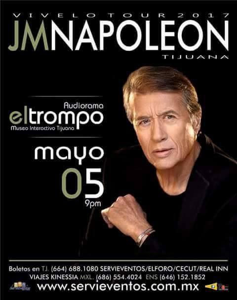 JM NAPOLEON VIVELO TOUR 2017 TIJUANA