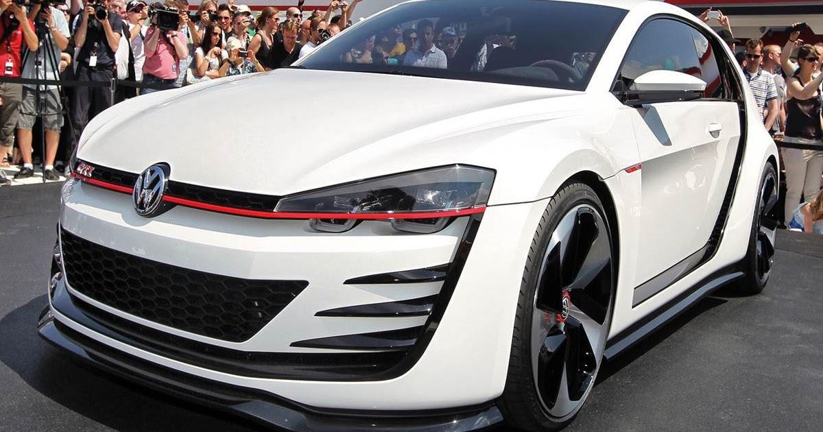 VW Golf GTi Vision influenciará modelo de rua