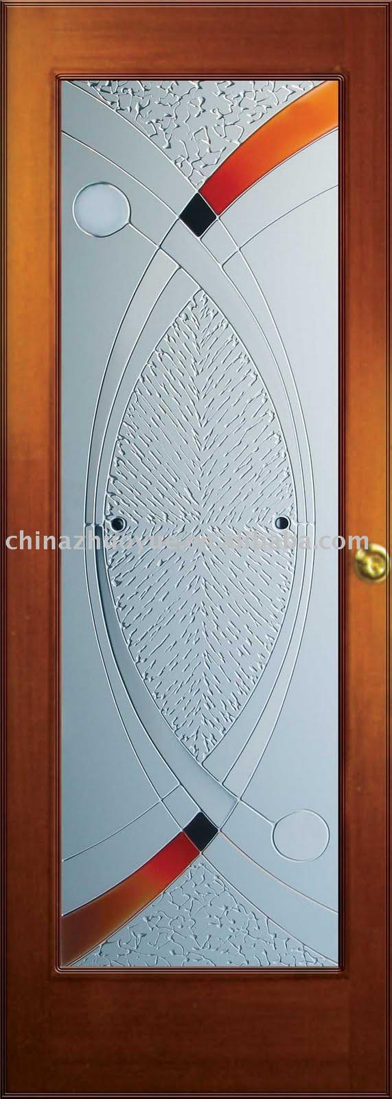 Cristales para puertas portones puertas de madera for Pintar cristales de puertas