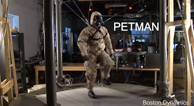 Boston Dynamics : PETMAN Robot Tests the Performance of Protective Clothing ~ The *Official AndreasCY*