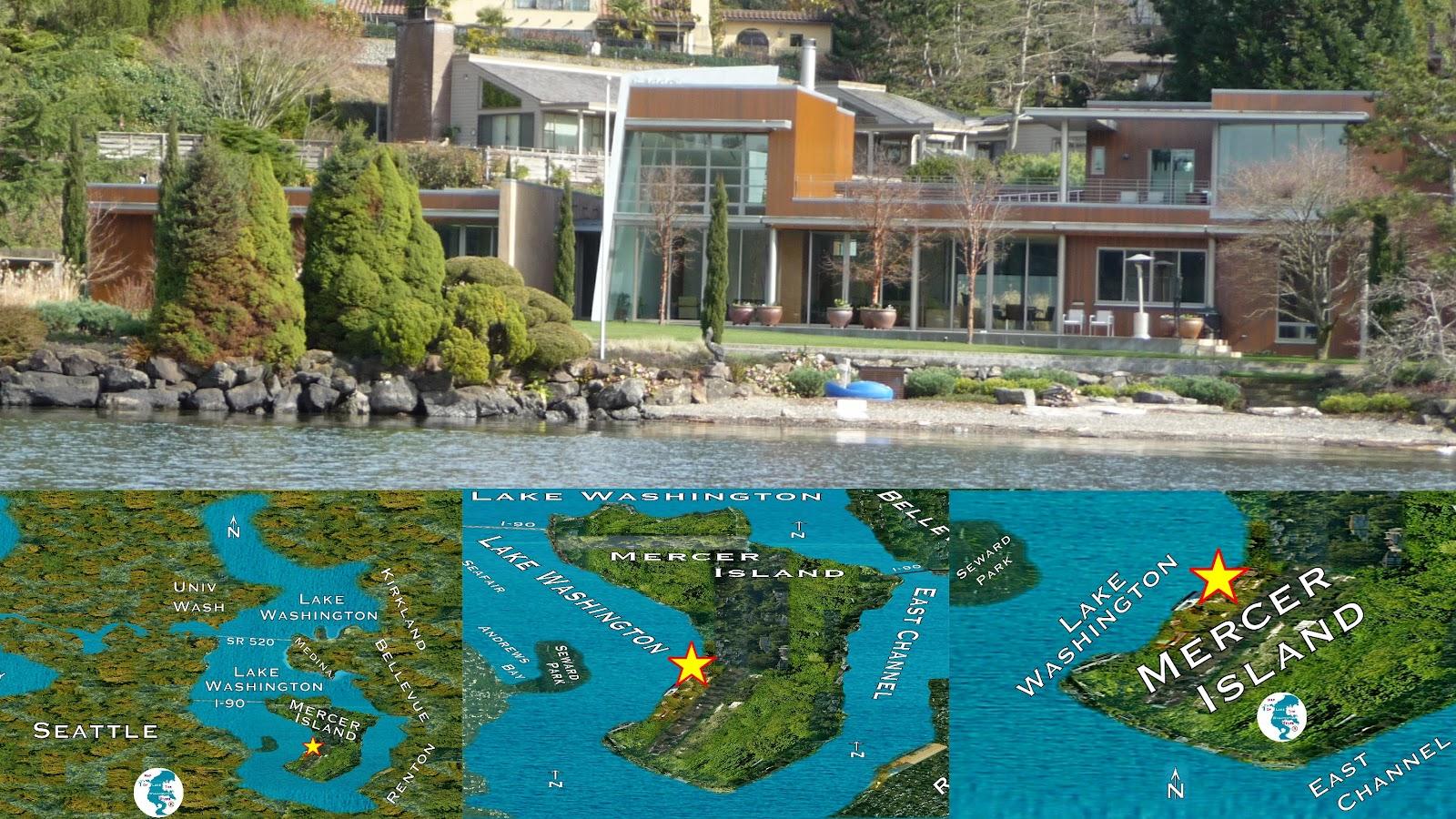 Mercer island luxury waterfront estate idesignarch interior design - Seattle Mansions Obama Mercer Island Advisor Joseph Schocken