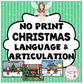 https://www.teacherspayteachers.com/Product/Christmas-Language-Articulation-Games-No-Print-2212933