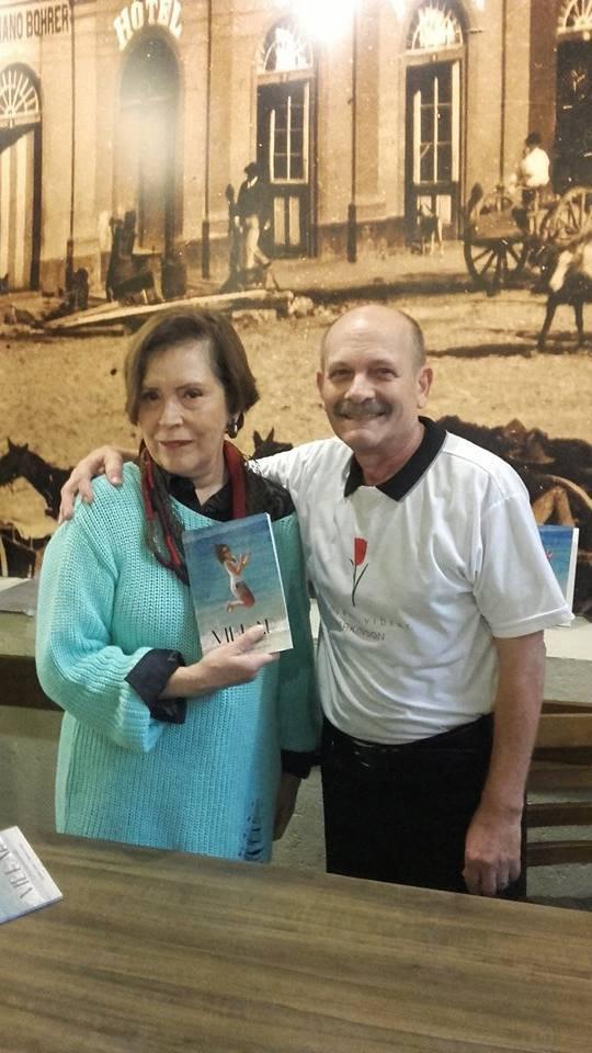 Manoel com Mara Regina S. Martins