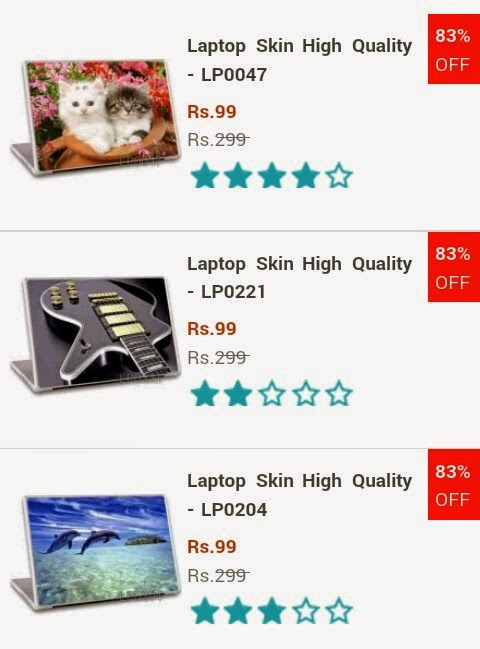 83% off on high quality lapton skin