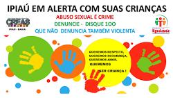 CAMPANHA VIOLÊNCIA CONTRA CRIANÇAS