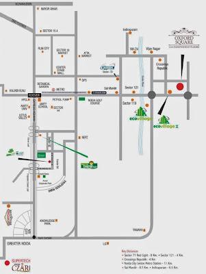 Oxford Square :: Location Map