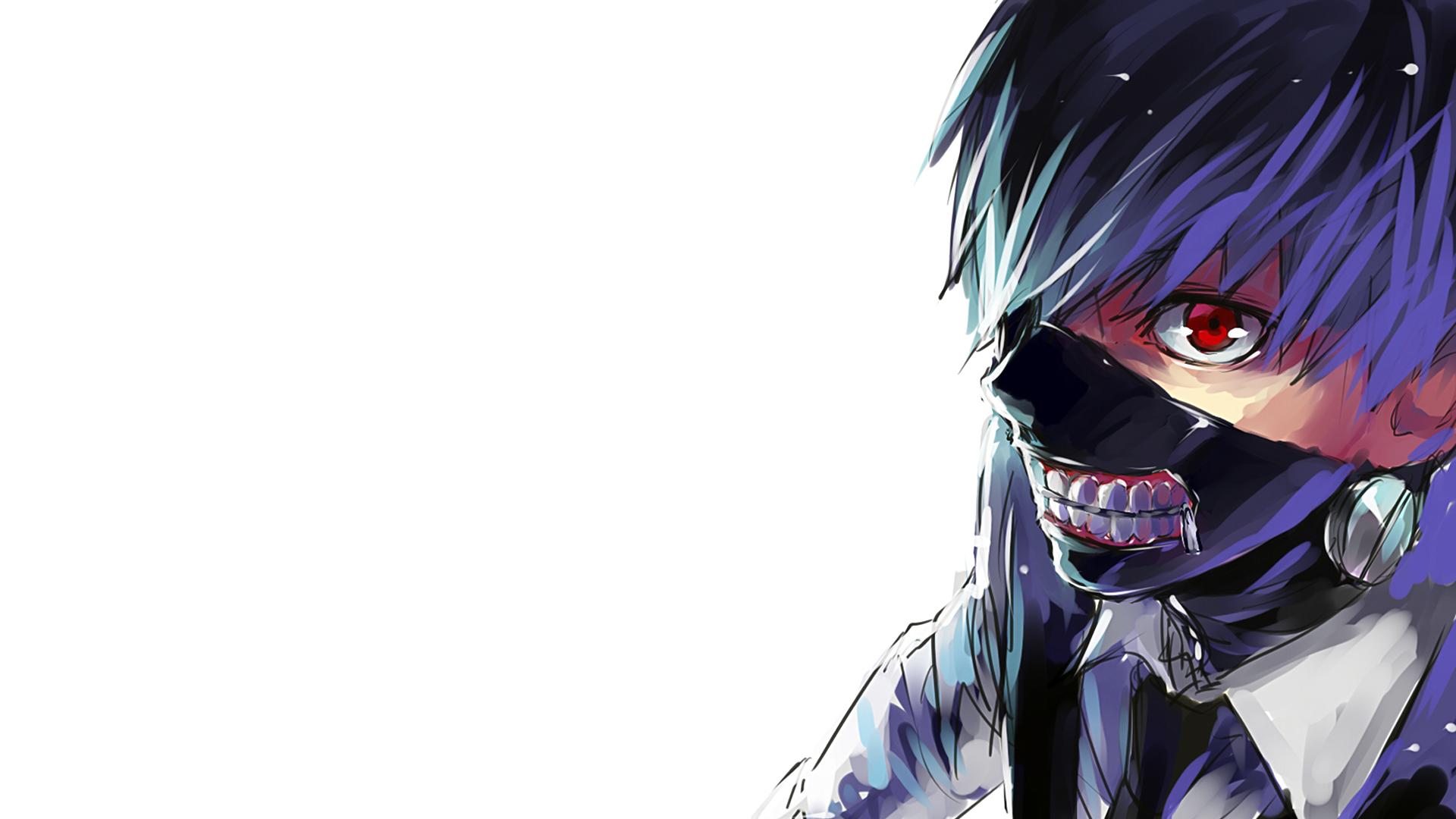mask tokyo ghoul anime wallpaper hd