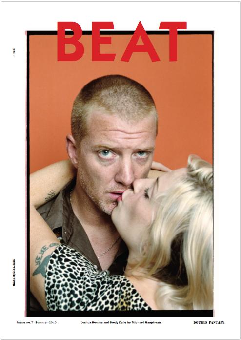 Brody Dalle e Josh Homme na revista BEAT