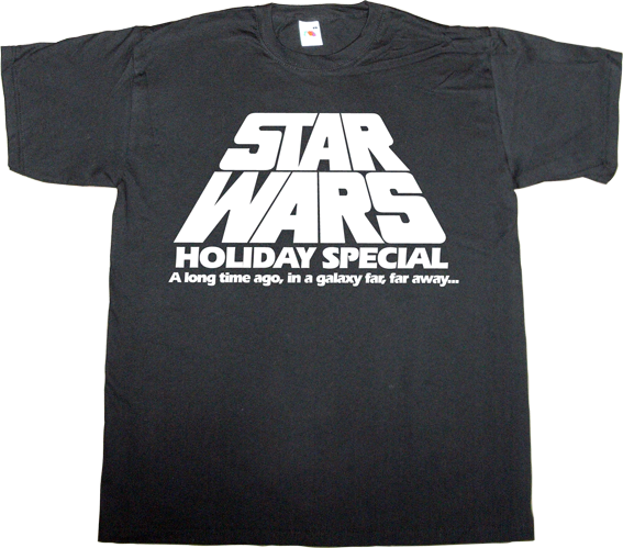 christmas star wars fun t-shirt ephemeral-t-shirts