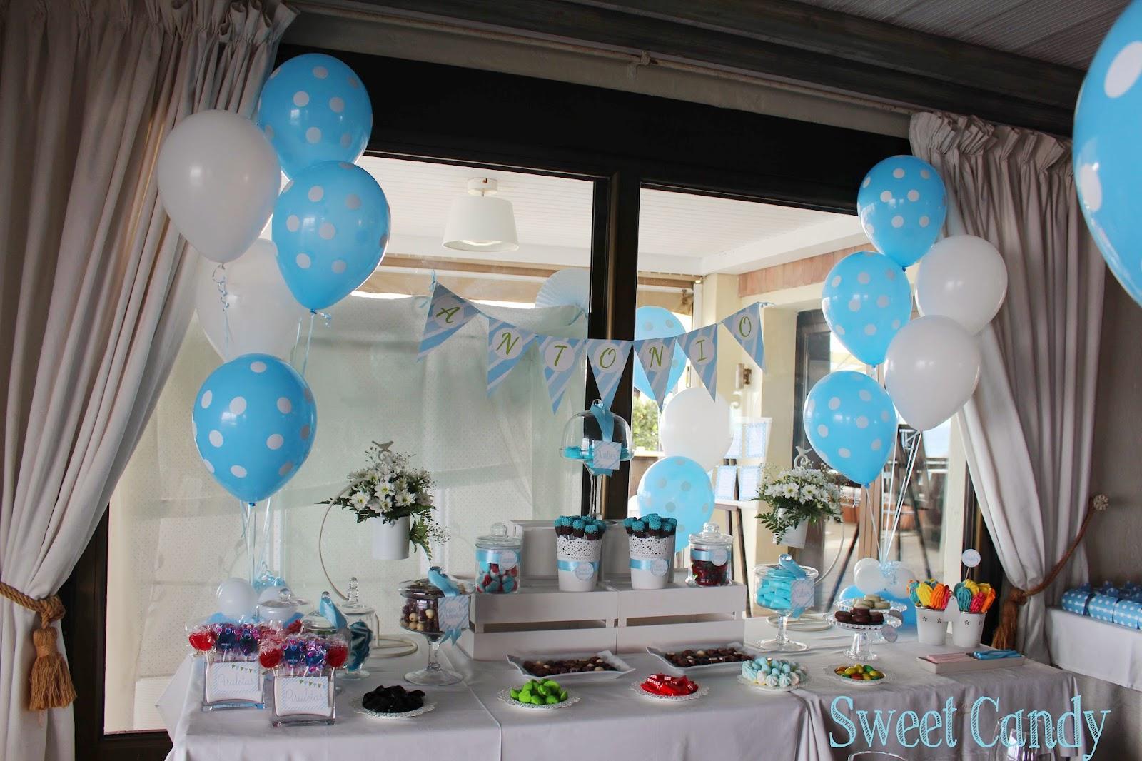 Sweet candy mesa dulce comuni n en restaurante los - Como decorar una mesa de comunion ...
