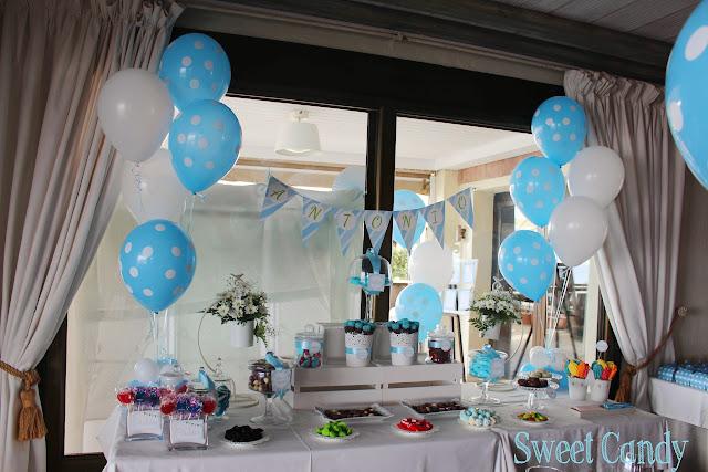Sweet candy mesa dulce comuni n en restaurante los moriscos motril - Ideas para decorar mesas de chuches ...