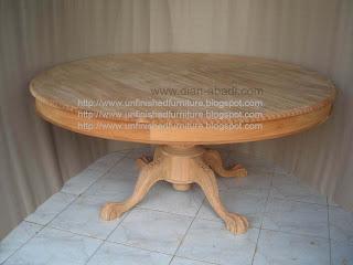 Furniture klasik meja makan chippendale meja klasik mahoni supplier mebel klasik jepara meja makan ukir jepara meja makan unfinished mentah
