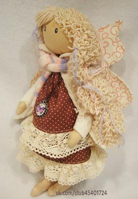 Интерьерная кукла. Беременная фея.