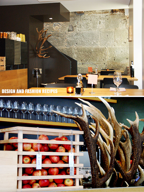 Sassafraz wine bar and restaurant on Design and fashion recipes