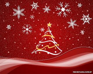 Christmas Wallpaper Stripes Stars Background | Free Christian ...