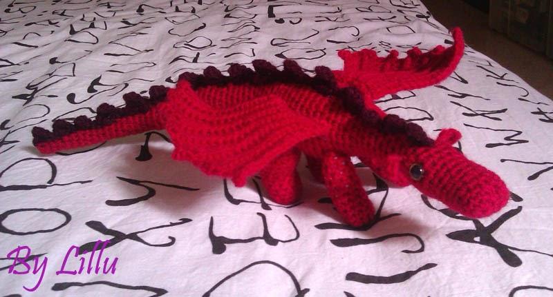 Lillusion: Dragón de amigurumi