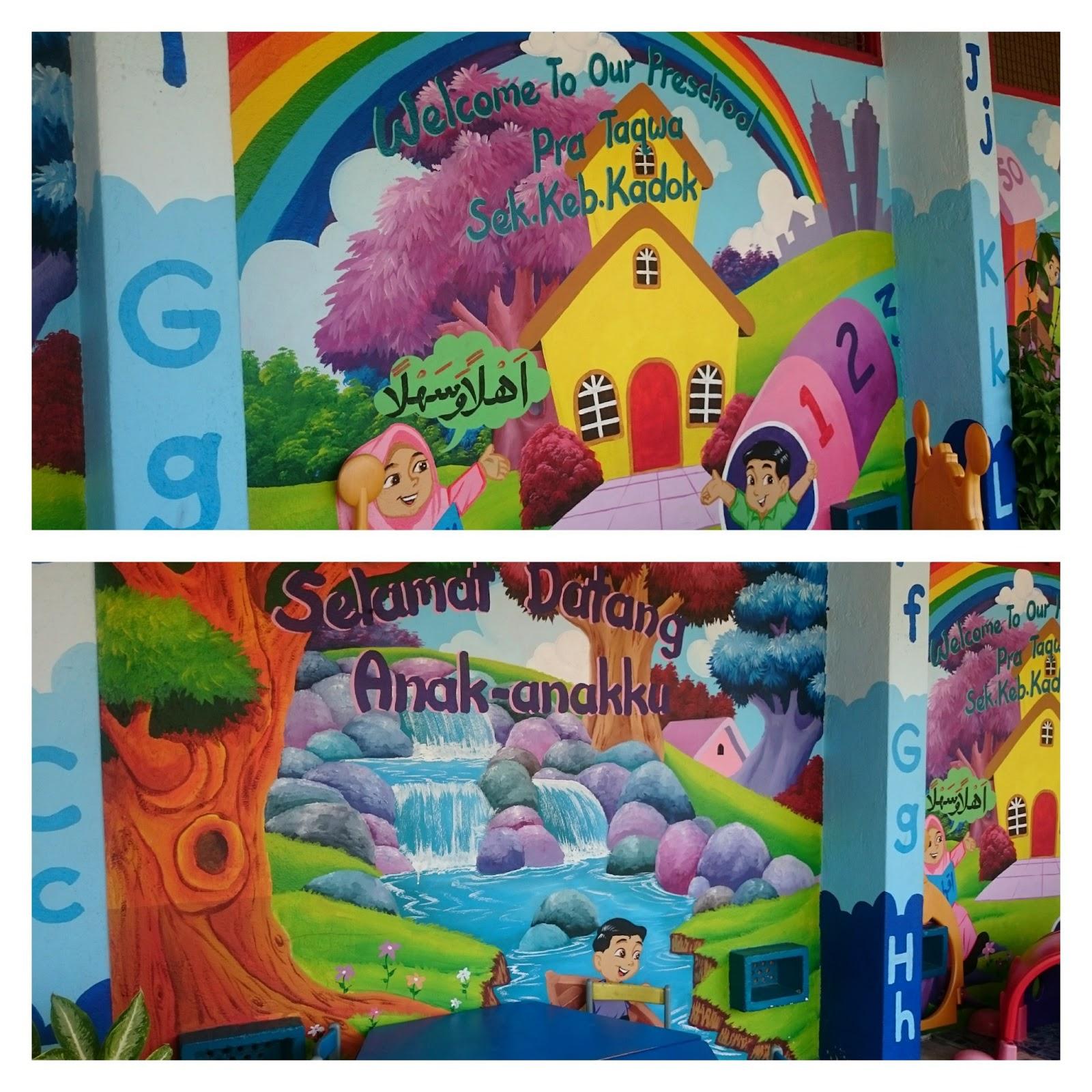 Kembara Minda 7 Lukisan Mural Pra Taqwa Sk Kadok
