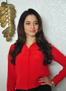 Tamanna Red Dress New Po Gallery 67.jpg