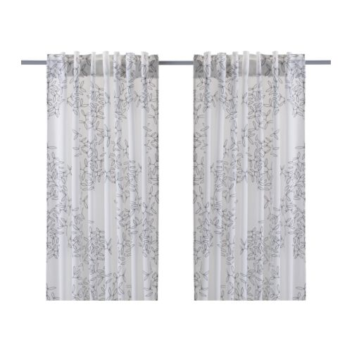 Grey And White Curtains Ikea Velvet Curtains IKEA