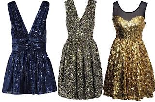 imagens de modelos de vestidos de paetês
