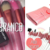Review: Kit de 20 pincéis branco e rosa + SORTEIO