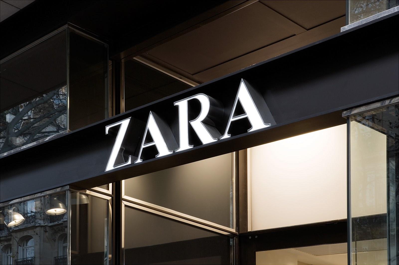 la primera tienda zara: