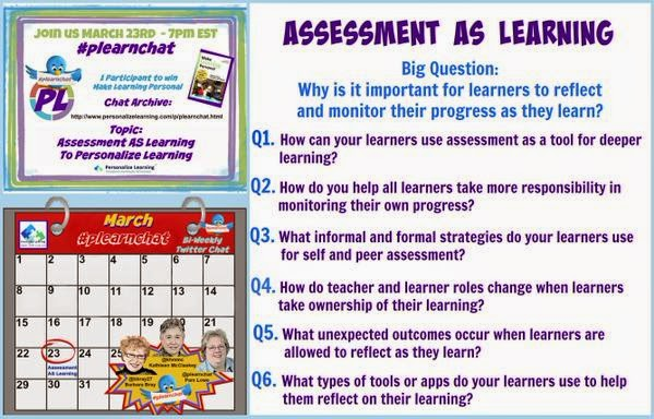 Personalize Learning: Assessment AS Learning Conversations