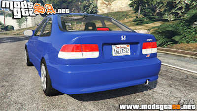 V - Honda Civic Si 1999 para GTA V PC