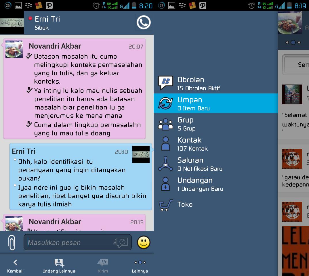 BBM Mod Clone Tema Iphone Apk 2.5.0.32 + Update Musik