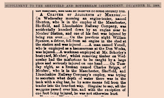 Sheffield Independent Saturday 12th December 1868