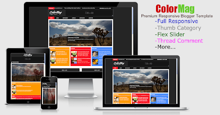 ColorMag responsive Blogger template