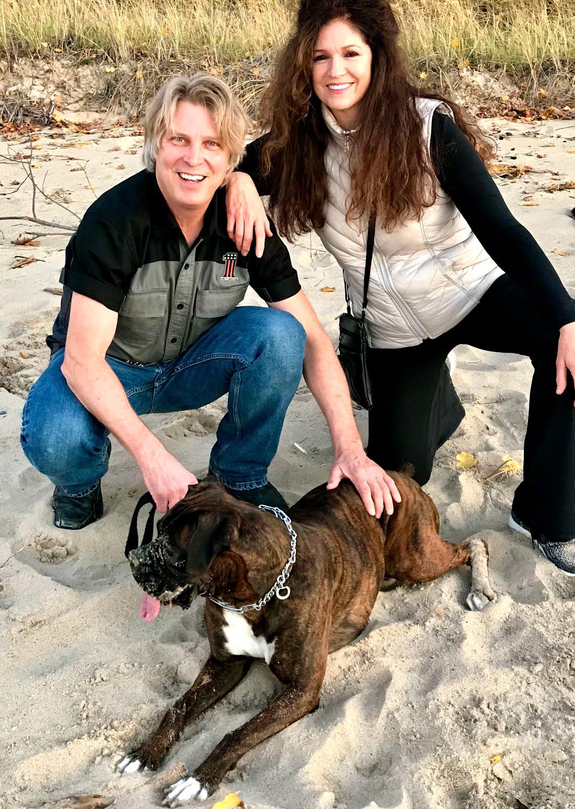 Mark, Katie & Indy