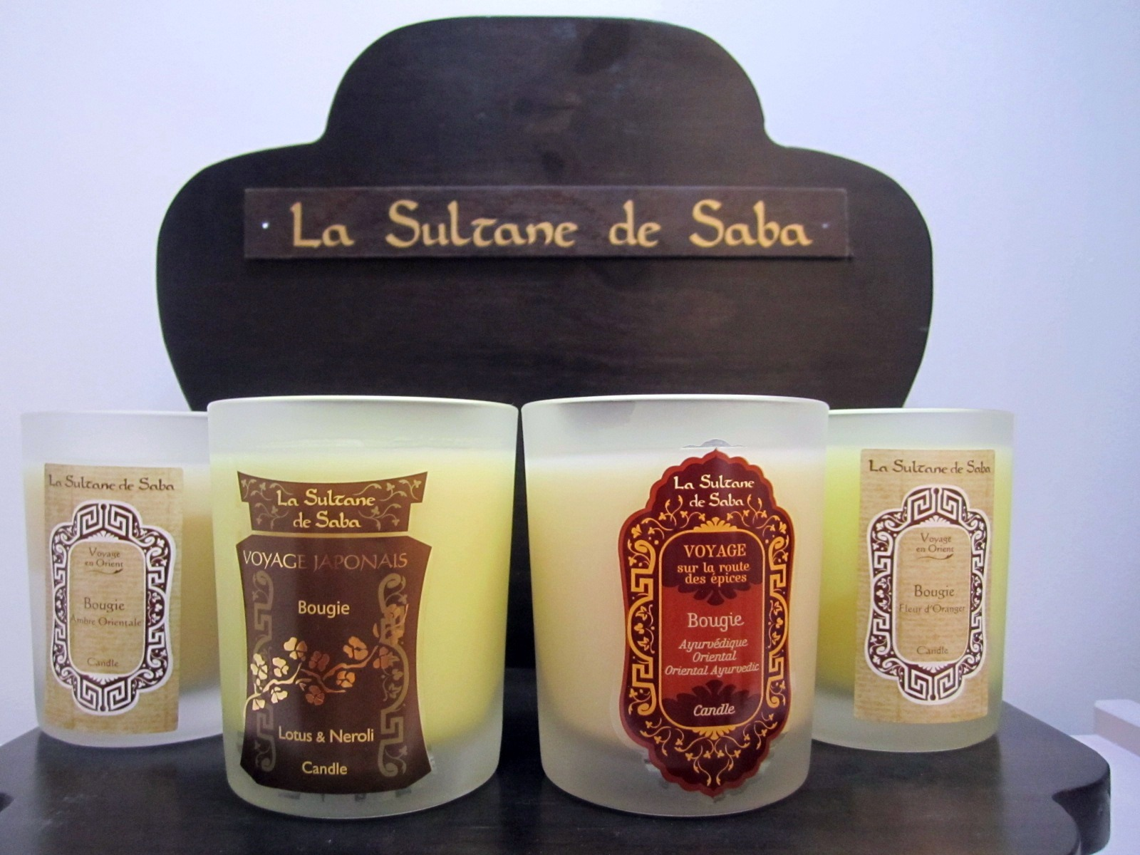 carley harrison scented candle heaven from la sultane de saba. Black Bedroom Furniture Sets. Home Design Ideas