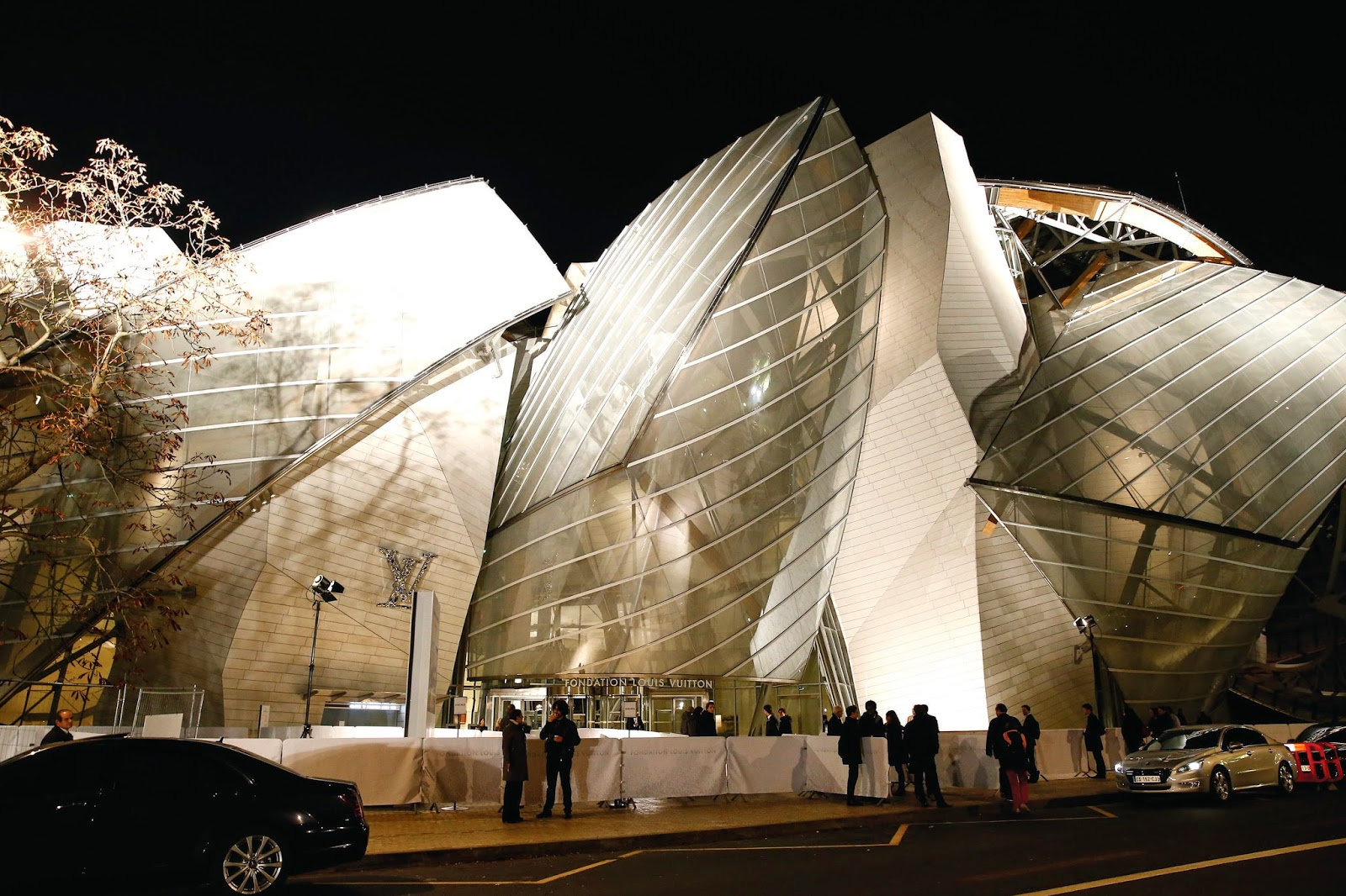 Grand Opening of Fondation Louis Vuitton
