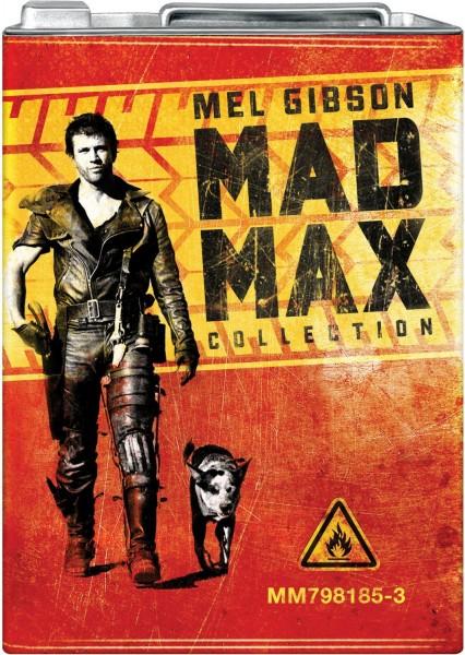 Trilogia Mad Max Lata de Gasolina