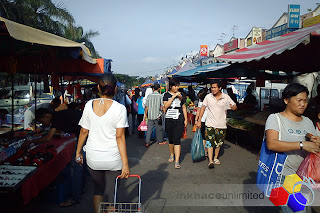 mknace unlimited™ | Suasana Pasar Malam Nusa Perintis