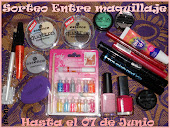 Sorteo en entre maquillaje