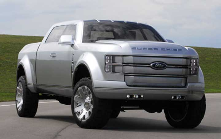 The Ford F 650 Concept Truck Is Big The Ford F 650 Concept Truck Is