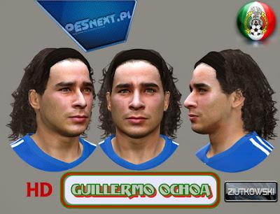 PES 2014 Guillermo Ochoa Face by ZIUTKOWSKI