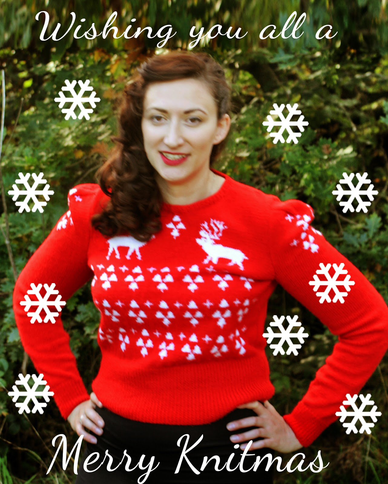 The Butterfly Balcony: Knit It - The Perfect Christmas Jumper