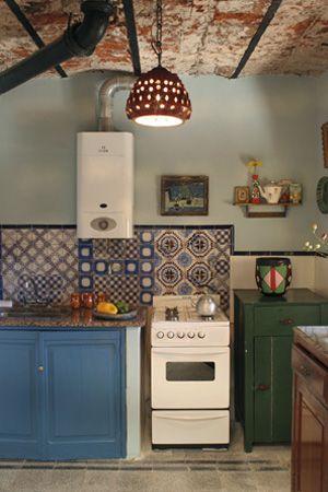 Südamerikanische Folklore und Design fürs Zuhause - Einrichten mit Herz: Küche