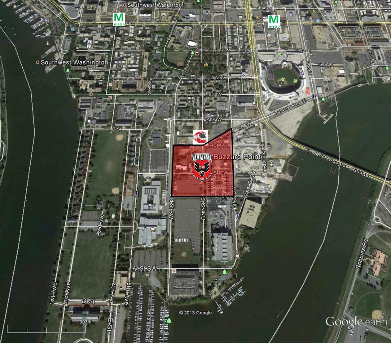 SouthwestThe Little Quadrant That Could July - Washington dc pyramid map
