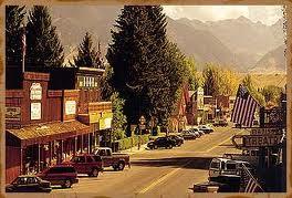 Ennis Montana Main Street