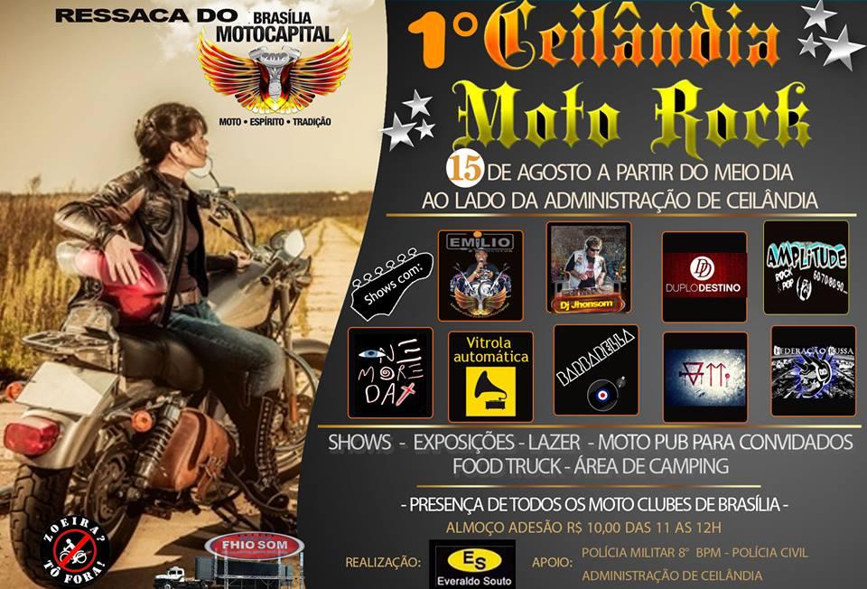 1º CEILÂNDIA MOTO ROCK