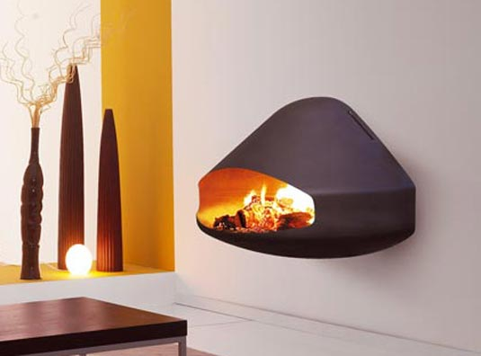 Fireplace design ideas multi star - Contemporary fireplaces wall mounted ...