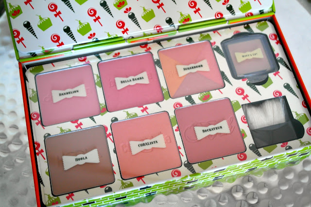 Benefit Cheeky Sweet Spot Christmas Gift Set by What Laura did Next