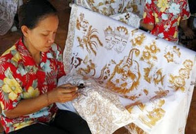 Sejarah Tenun Batik Galuh Bali
