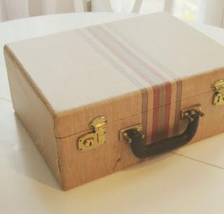 Reciclatex Cómo convertir una vieja maleta en un organizador