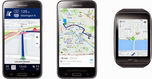 Nokia Here Maps chính thức có mặt trên Android