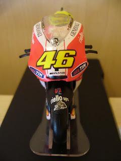 colección Altaya motocicletas de Valentino Rossi